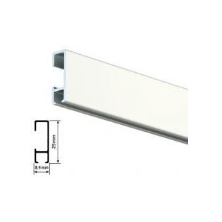 picture suspension rail, 2 m, white