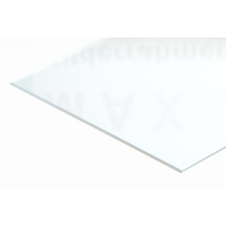 Acrylic glass UV97 40x100