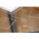 sample corners, glass, passepartout